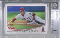 Mike Trout (Sliding) [BGS 9 MINT]