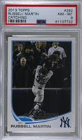 Russell Martin (Great Catch) [PSA 8 NM‑MT]