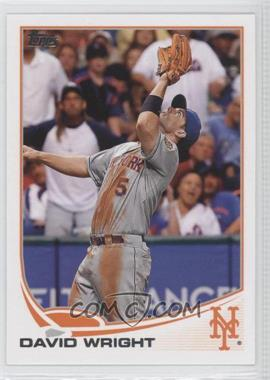 2013 Topps - [Base] #400.2 - David Wright (Great Catch)