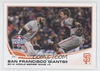 San Francisco Giants Team (Sergio Romo, Buster Posey)