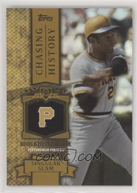 2013 Topps Chasing History Gold Holo Foil Ch 77