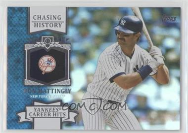 2013 Topps - Chasing History - Holo-Foil #CH-13 - Don Mattingly