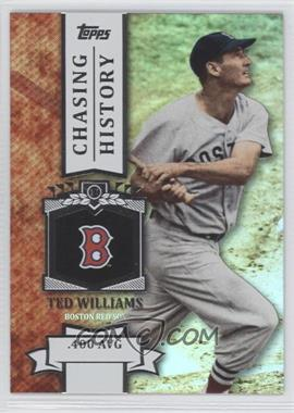 2013 Topps - Chasing History - Holo-Foil #CH-33 - Ted Williams