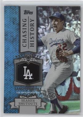 2013 Topps - Chasing History - Holo-Foil #CH-69 - Sandy Koufax