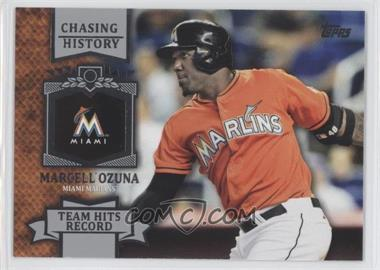 2013 Topps - Chasing History #CH-141 - Marcell Ozuna