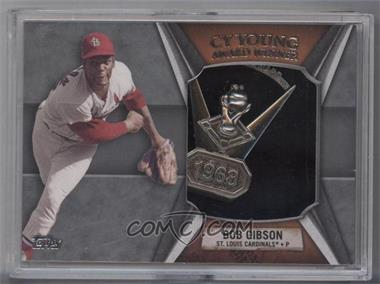 2013 Topps - Cy Young Award Winner Commemorative Relic #CY-BG - Bob Gibson