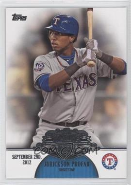 2013 Topps - Making Their Mark #MM-21 - Jurickson Profar