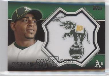 2013 Topps - Manufactured Commemorative Patch #CP-18 - Yoenis Cespedes