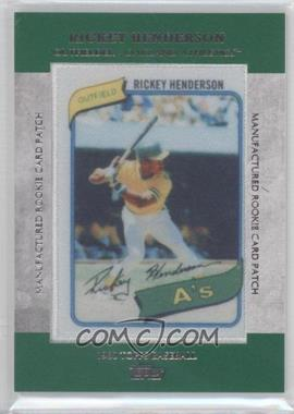 2013 Topps - Manufactured Rookie Card Patch #RCP-12 - Rickey Henderson