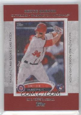 2013 Topps - Manufactured Rookie Card Patch #RCP-24 - Bryce Harper