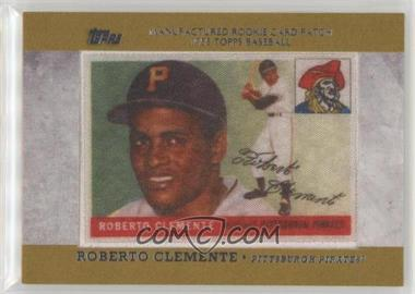 2013 Topps Manufactured Rookie Card Patch Rcp 3 Roberto