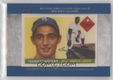 2013 Topps - Manufactured Rookie Card Patch #RCP-4 - Sandy Koufax