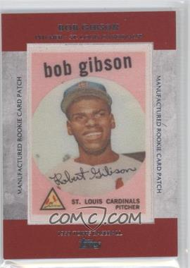2013 Topps - Manufactured Rookie Card Patch #RCP-5 - Bob Gibson