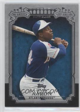 2013 Topps - The Greats #TG-22 - Hank Aaron