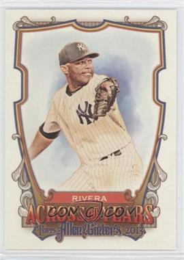 2013 Topps Allen & Ginter's - Across the Years #ATY-MR - Mariano Rivera