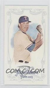 2013 Topps Allen & Ginter's - [Base] - Mini Allen & Ginter Back #230 - Derek Holland