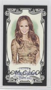 2013 Topps Allen & Ginter's - [Base] - Mini Black Border #68 - Chrissy Teigen