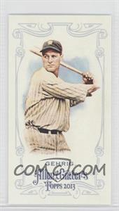 2013 Topps Allen & Ginter's - [Base] - Minis #75 - Lou Gehrig