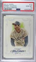 Sandy Koufax [PSA 10 GEM MT]