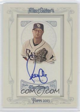 2013 Topps Allen & Ginter's - Framed Mini Autographs #AGA-AC - Alex Cobb