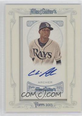 2013 Topps Allen & Ginter's - Framed Mini Autographs #AGA-CA - Chris Archer
