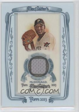 2013 Topps Allen & Ginter's - Framed Mini Relics #AGR-JMD - James McDonald