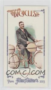 2013 Topps Allen & Ginter's - People on Bicycles Minis #POB-A - Amphibious