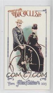 2013 Topps Allen & Ginter's - People on Bicycles Minis #POB-QT - Quadracycle for Two