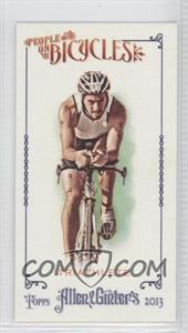 2013 Topps Allen & Ginter's - People on Bicycles Minis #POB-TRI - Triathlete