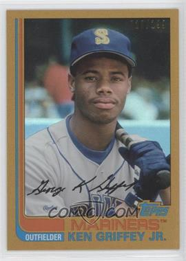 2013 Topps Archives - [Base] - Gold Rainbow #92 - Ken Griffey Jr. /199