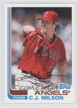 2013 Topps Archives - [Base] #75 - C.J. Wilson
