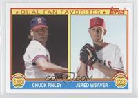 Jered Weaver, Chuck Finley