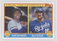 Billy Butler, John Mayberry