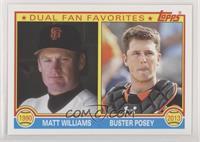 Buster Posey, Matt Williams
