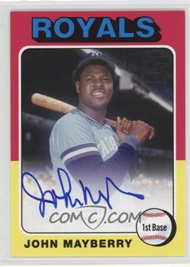 2013 Topps Archives - Fan Favorites Autographs - [Autographed] #FFA-JM - John Mayberry