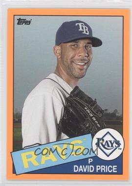 2013 Topps Archives - Hobby Shop [Base] - Orange Day-Glo #127 - David Price