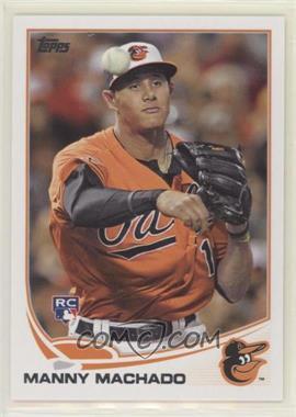2013 Topps Baltimore Orioles - [Base] #BAL-2 - Manny Machado