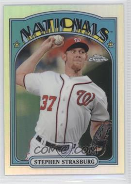 2013 Topps Chrome - 1972 Topps Chrome #72C-SS - Stephen Strasburg