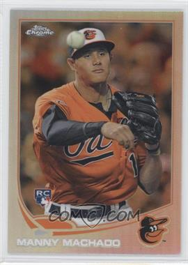 2013 Topps Chrome - [Base] - Refractor #12 - Manny Machado