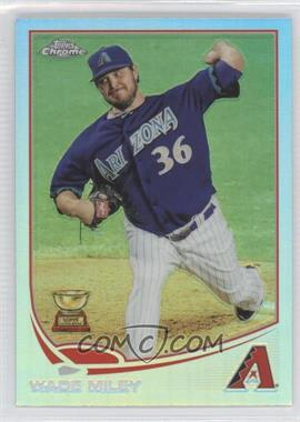 2013 Topps Chrome - [Base] - Refractor #139 - Wade Miley