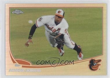 2013 Topps Chrome - [Base] - Refractor #152 - Adam Jones