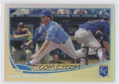 2013 Topps Chrome - [Base] - Refractor #177 - Mike Moustakas