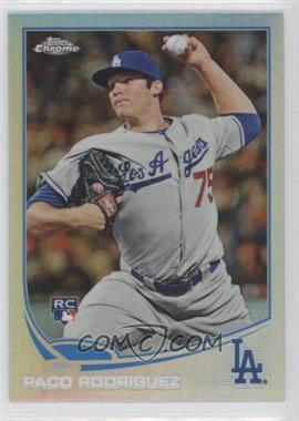 2013 Topps Chrome - [Base] - Refractor #182 - Paco Rodriguez