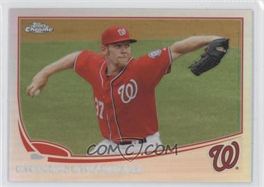 2013 Topps Chrome - [Base] - Refractor #50 - Stephen Strasburg