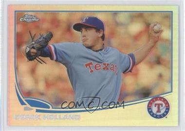 2013 Topps Chrome - [Base] - Refractor #53 - Derek Holland
