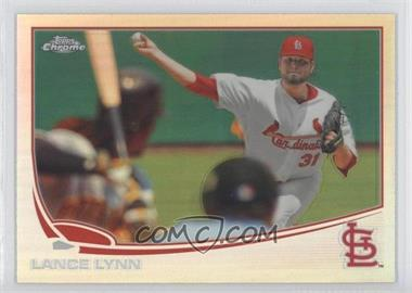 2013 Topps Chrome - [Base] - Refractor #7 - Lance Lynn
