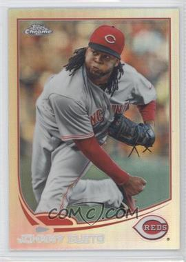 2013 Topps Chrome - [Base] - Refractor #98 - Johnny Cueto