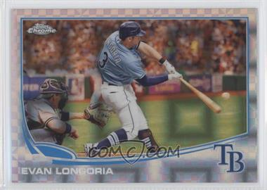 2013 Topps Chrome - [Base] - X-Fractor #11 - Evan Longoria