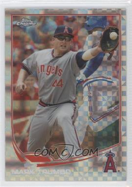 2013 Topps Chrome - [Base] - X-Fractor #114 - Mark Trumbo