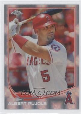2013 Topps Chrome - [Base] - X-Fractor #136 - Albert Pujols